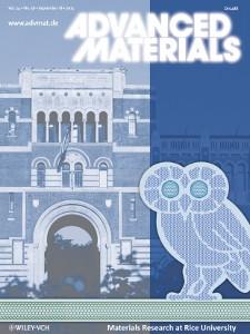 Unfolding the Fullerene... on the cover of Adv. Mater.