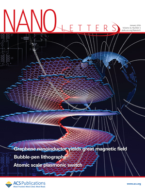 The Carbon NanoSolenoid on the Cover of Nano Letters